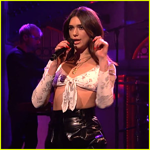 Dua Lipa Performs 'New Rules' & 'Homesick' Live on 'SNL' - Watch Now!