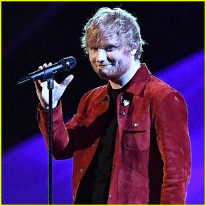 Ed Sheeran Delivers Tear-Jerking 'Supermarket Flowers' Performance at Brit Awards 2018 (Video)