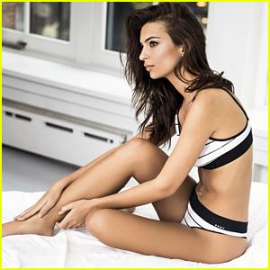Emily Ratajkowski Gets Sexy in #UnderneathMyDKNY Campaign Video - Watch Now!