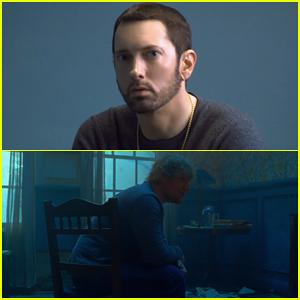 Eminem & Ed Sheeran Debut Confessional 'River' Music Video - Watch Here!