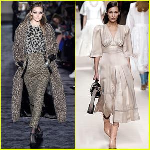 Gigi Hadid Rocks Leopard on Leopard for Max Mara Fashion Show!