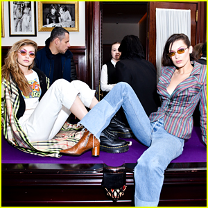 Gigi & Bella Hadid Strike a Pose at Inez & Vinoodh Pop-Up Store Event!