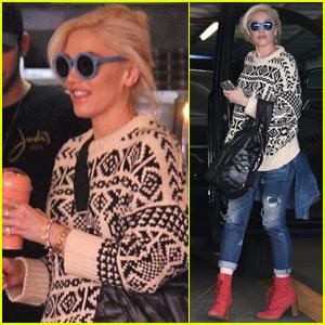 Gwen Stefani Spends the Day Running Errands in Beverly Hills