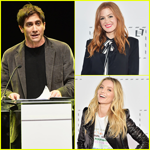 Jake Gyllenhaal, Isla Fisher & More Take Part in First Public U.S. Performance of 'Letters Live'!
