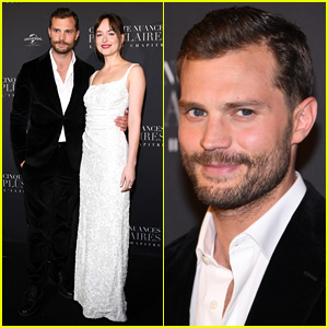 Jamie Dornan & Dakota Johnson Premiere 'Fifty Shades Freed' in Paris