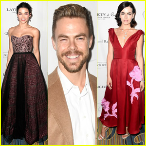Jenna Dewan-Tatum Joins Derek Hough & Camilla Belle at L.A. Ballet Gala