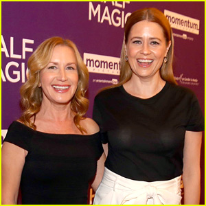 Jenna Fischer Supports Former 'The Office' Co-Star Angela Kinsey at 'Half Magic' Premiere!