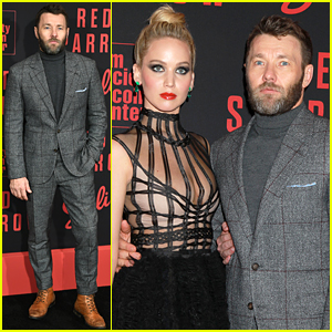Joel Edgerton & Others Join Jennifer Lawrence at 'Red Sparrow' NYC Premiere