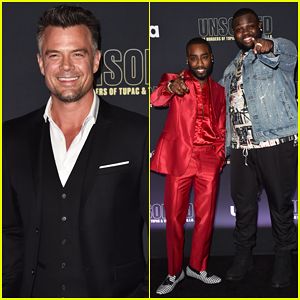 Josh Duhamel Suits Up for 'Unsolved: The Murders of Tupac and The Notorious B.I.G.' Premiere!