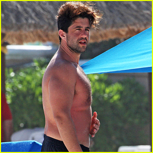 Josh Peck Goes Shirtless at the Beach in Mexico