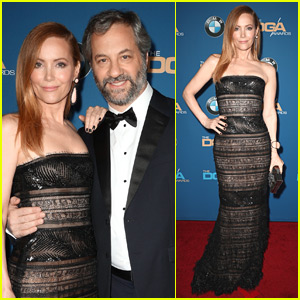 Judd Apatow & Leslie Mann Couple Up for DGA Awards 2018