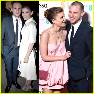 Kate Mara & Jamie Bell Couple Up for Events in London!