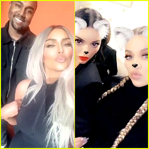 Kim Kardashian, Kanye West, & Family Are Playing 'Family Feud' - For Real!