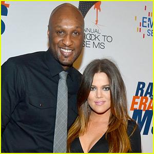 Lamar Odom Talks Khloe Kardashian's Pregnancy, Says He's 'Really Happy for Her'