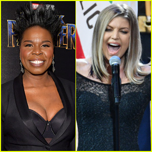 Leslie Jones Reacts to Fergie's Viral National Anthem Performance