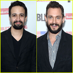 Lin-Manuel Miranda & Hugh Dancy Step Out for Opening Night of 'Kings' on Broadway