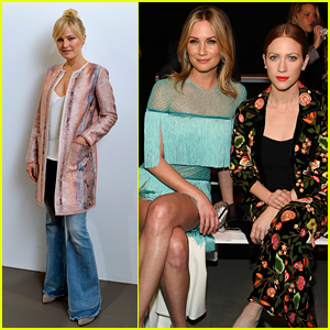 Malin Akerman, Jennifer Nettles, & Brittany Snow Check Out New Fashion During NYFW!