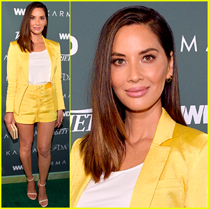 Olivia Munn Debuts 'Luscious Lips' & Then Wipes Them Away