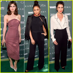 Alexandra Daddario, Shay Mitchell, Nikki Reed & More Attend Runway to Red Carpet Luncheon!
