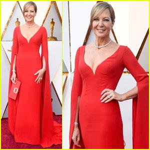Allison Janney Brings 'I, Tonya' to Oscars 2018 Red Carpet