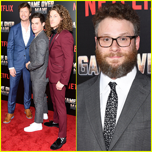 Anders Holm, Adam Devine & Blake Anderson Premiere New Netflix Film 'Game Over, Man' - Watch Trailer!