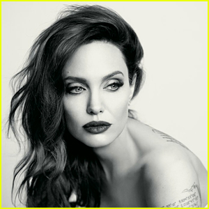 Angelina Jolie Gets Honest About Aging & Using Makeup