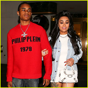 Blac Chyna Goes Shopping at Saks with Her 18-Year-Old Boyfriend