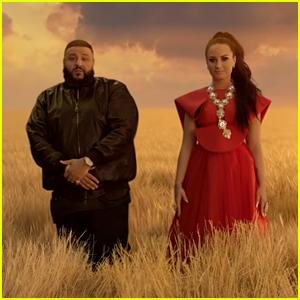 Demi Lovato & DJ Khaled Team Up for 'I Believe' Video!