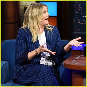 Drew Barrymore Recalls Flashing David Letterman on TV in 1995 - Watch Now!