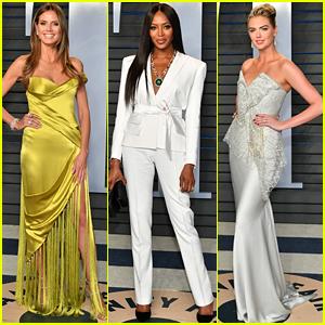Heidi Klum, Naomi Campbell, & More Models Stun at Vanity Fair Oscars Party 2018!