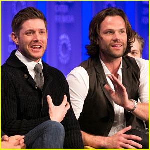 Jared Padalecki & Jensen Ackles Join 'Supernatural' Cast at PaleyFest Panel!