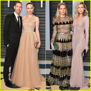 Kate Bosworth & Michael Polish Couple Up at Vanity Fair Oscars Party 2018!