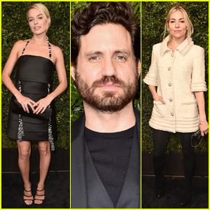 Margot Robbie Joins Edgar Ramirez & Sienna Miller at Chanel Oscars Pre-Party!