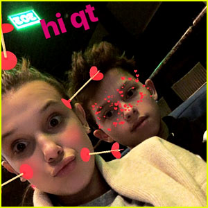 Millie Bobby Brown Boyfriend Jacob Sartorius Are Totally Smitten In New Photos