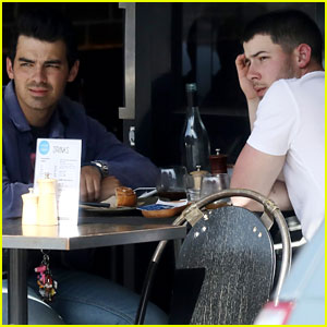 Nick & Joe Jonas Grab Lunch After Nick's Hot Date Night