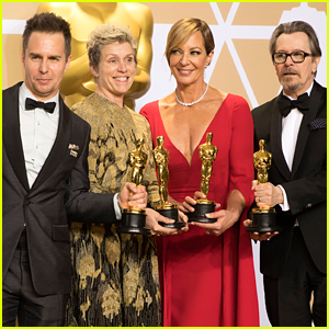 Oscars 2018: Four Acting Winners Pose Together with Awards!