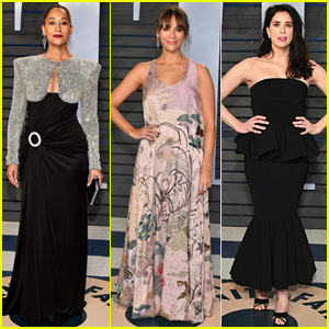 Tracee Ellis Ross, Rashida Jones & Sarah Silverman Attend Star-Studded Oscars 2018 Party!