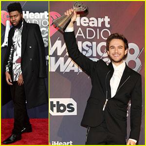 Zedd & Khalid Win at iHeartRadio Music Awards 2018