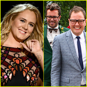 Adele Confirms She Officiated Wedding of Her 2 Best Friends Alan Carr & Paul Drayton!