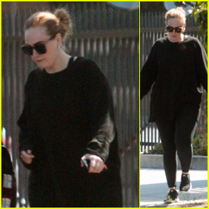 Adele Steps Out From the Salon in Beverly Hills!