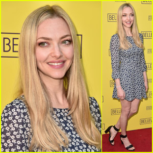 Amanda Seyfried Looks Pretty on the Red Carpet at the Opening Night of 'Belleville'