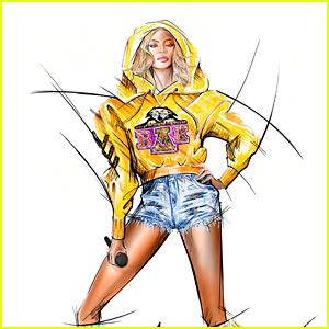Balmain Revela Bocetos para Beyonce's Trajes de Coachella