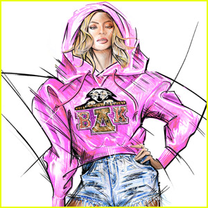 Balmain Reveals Sketches for Beyonce's Coachella Weekend 2 Costumes!