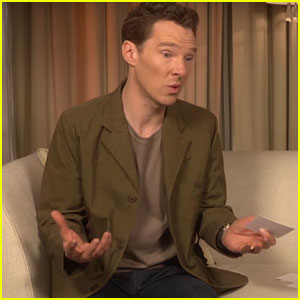 Benedict Cumberbatch Gives Advice to His Teen Self (Video)