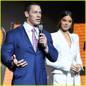 Hailee Steinfeld & John Cena Discuss 'Transformers' Spin-Off 'Bumblebee' at CinemaCon 2018!