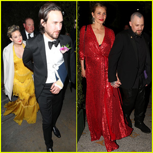 Kate Hudson & Cameron Diaz Bring Their Partners to Gwyneth Paltrow's Party!