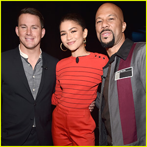 Channing Tatum Makes First Red Carpet Appearance Since Announcing Split at CinemaCon 2018