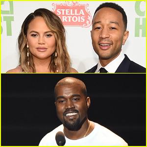 Chrissy Teigen Reacts to Kanye West Sharing John Legend Text Exchange