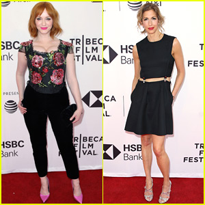 Christina Hendricks & Alysia Reiner Screen 'Egg' at Tribeca Film Festival