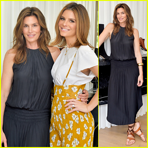 Cindy Crawford Gets Spring Ready at Sarah Flint Spring Footwear Collection Celebration!